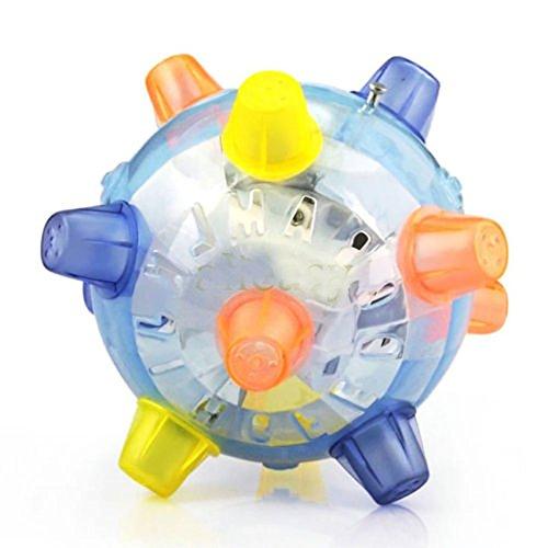 Ruip Sensory Ball Singing Dancing and Bouncing Bumble Ball Toy Flashing for Kid Child Gift