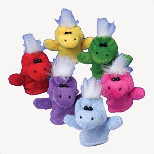Dinosaur Finger Puppets 12 Pack