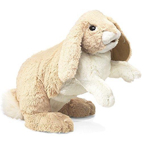 Folkmanis Floppy Bunny Rabbit Hand Puppet by Folkmanis