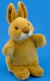 Rabbit Hand Puppet Soft Toy 28cm RBP19 by Dowman