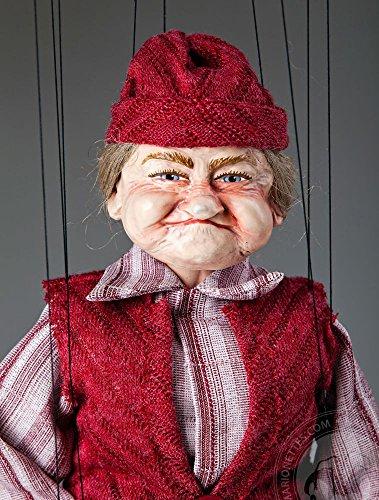 Old Lady Fanny Czech Marionette
