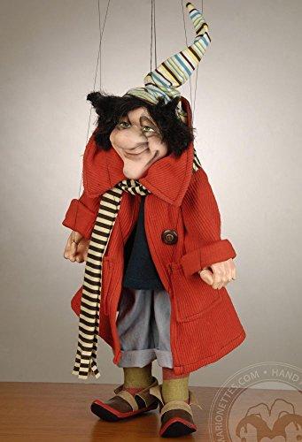 Red Coat Fairy Czech Marionette