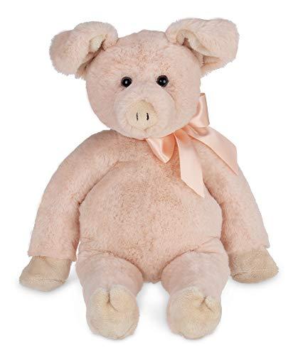 Bearington Piggy Plush Pig Stuffed Animal 16 inches