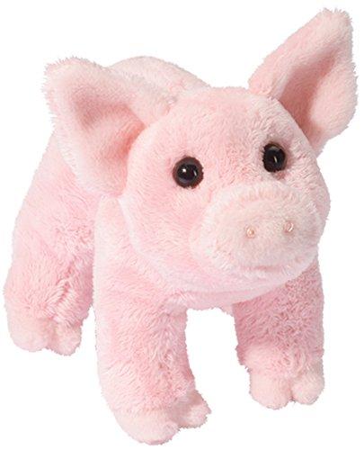 Douglas Buttons Pink Pig Plush Stuffed Animal