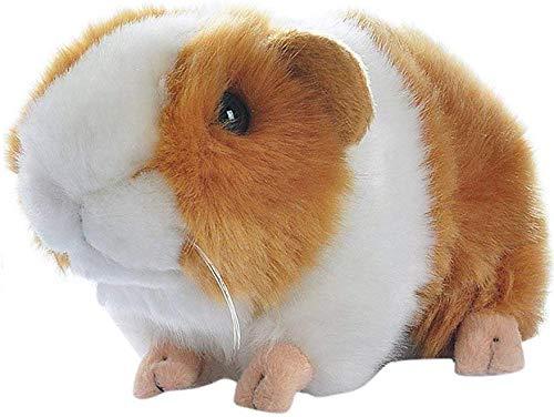 Yudit Cute Guinea Pig Plush Stuffed Animal Toys 7 Inch Yellow  White