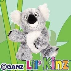 Ganz Lil Webkinz Plush - Lil Kinz Koala Stuffed Animal