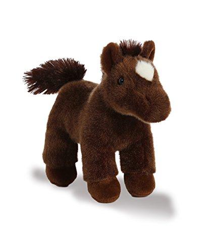 Aurora World Western Plush Horse with Sound Brown Small