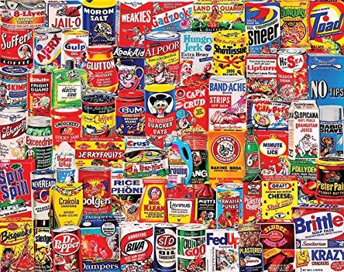 White Mountain Wacky Jigsaw Puzzles 1000 Piece