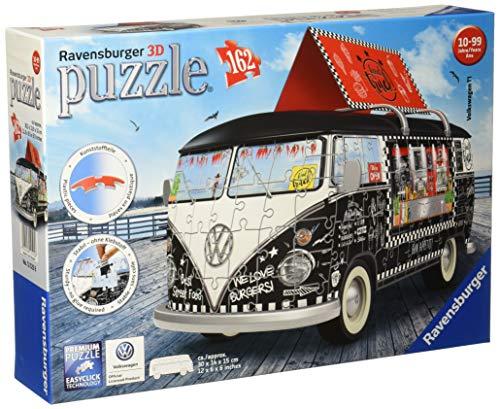 Ravensburger 3D Puzzle Volkswagen T1 Food Truck Sonderformen 162 pieces