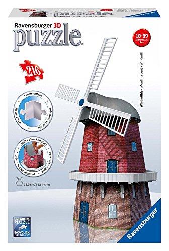Ravensburger Windmill 3D Puzzle 216-Piece