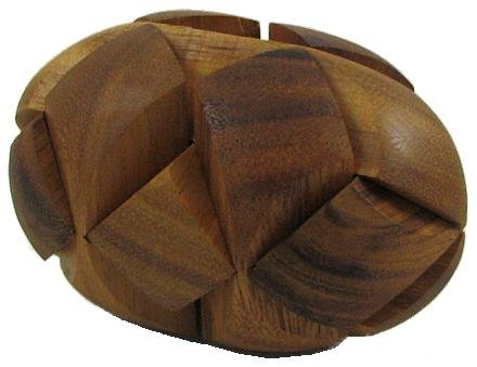 Dinosaur Egg 3D Wooden Puzzle Brain Teaser