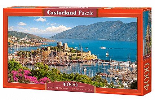 Castorland C400157 Bodrum MarinaTurkish Riviera Jigsaw Puzzle 4000-PieceÉ