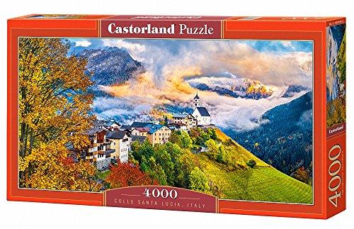 Castorland C400164 Colle Santa LuciaItaly Jigsaw Puzzle 4000-PieceÉ