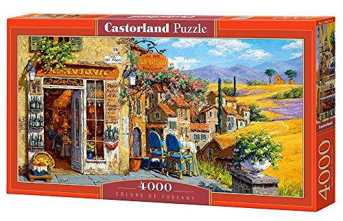 Castorland C400171 Colours of Tuscany Jigsaw Puzzle 4000-PieceÉ