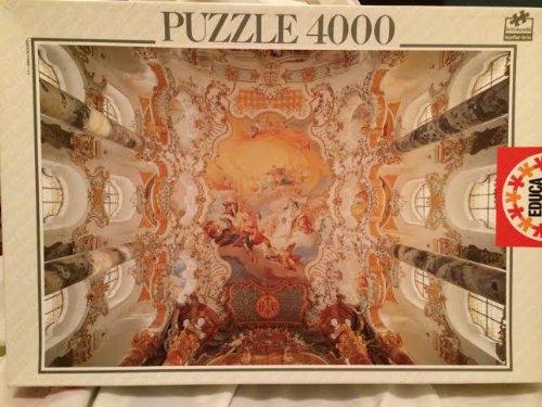 Educa Puzzle 4000 The Wieskirche