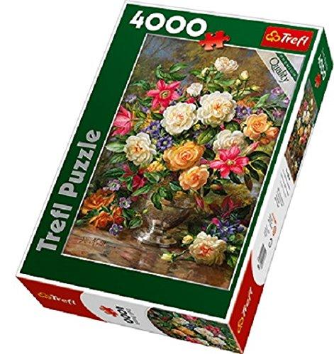 Trefl Flowers of Queen Elizabeth Jigsaw Puzzle 4000 Piece