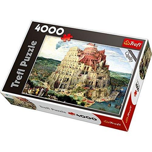 Trefl Tower of Babel Jigsaw Puzzle 4000 Piece by Trefl