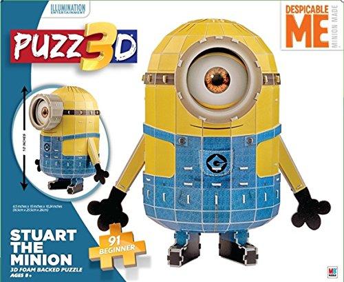 Cardinal Industries Puzz 3D Despicable Me Minion Puzzle