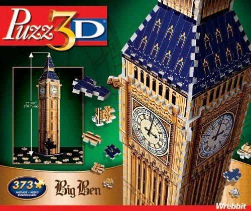 Puzz 3D Puzzles - Big Ben 373 Pieces 3 D Puzzle