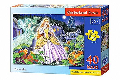 Castorland Cinderella Jigsaw Premium Maxi Puzzle 40-Piece Multi-Colour