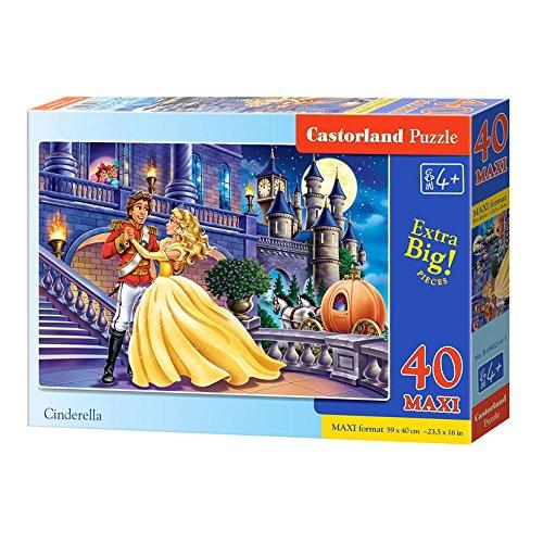 Castorland Maxi Puzzle Cinderella 40 Pieces