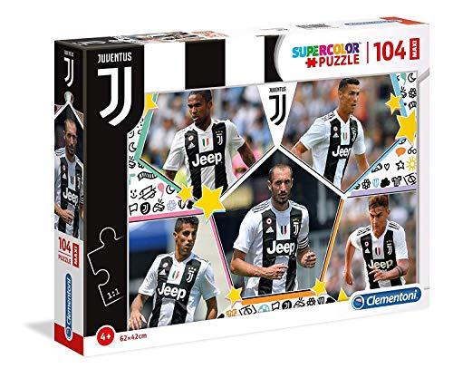 Clementoni Supercolor Juventus-Maxi Puzzle 104 Pieces Multicoloured 23726
