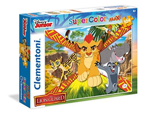 Clementoni The Lion guard - Wild Team Maxi Puzzle 104 Piece