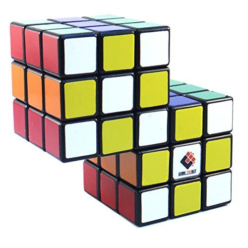 CubeTwist Siamese 2 - 3x3x3 Black Conjoint Puzzle Cube Twisty Puzzle 3x3