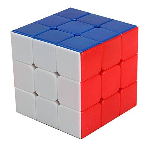GoodCube Shengshou Rainbow 3x3 Stickerless Magic Cube Puzzle 3x3 Speed Cube