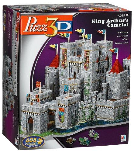 Puzzle 3D Camelot Castle