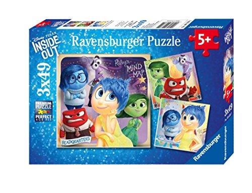 Ravensburger Disney Inside Out Emotional Adventure Puzzle 3 x 49 Piece