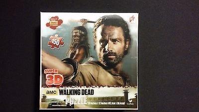 Inspire Dream Play AMC The Walking Dead Rick Grimes Michonne 150pc Super 3D Puzzle