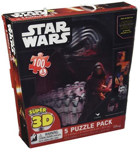 Star Wars Ep7 Super 3D Puzzle 5 Pack 100 Piece