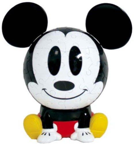 3D sphere puzzle Big face Disney 60 Large Piece Mickey Mouse  diameter about 102cm