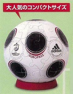 3D sphere puzzle piece 60 Euro 2008 path diameter about 76cm japan import