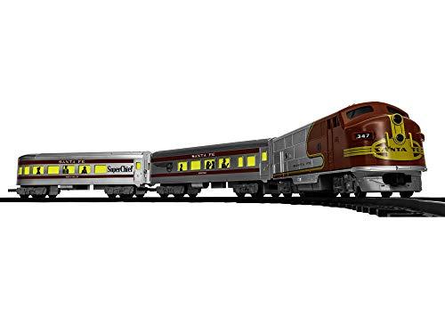 Lionel Santa Fe Diesel Battery-powered Model Train Set Ready to Play w Remote