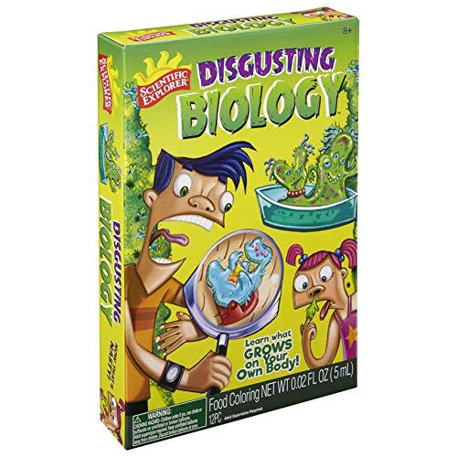 Scientific Explorer Disgusting Biology Kids Science Kit