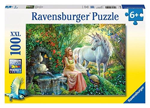 Ravensburger Princess and Unicorn Puzzle 100 Piece