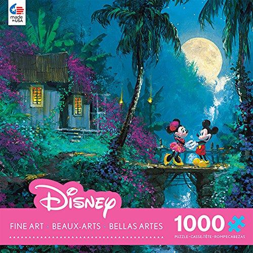 Ceaco Disney Mickey Mouse Fine Art Moonlight Proposal Puzzle 1000 Piece