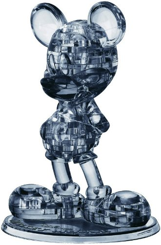 Crystal 3D Puzzle Disneys Mickey Mouse black edition