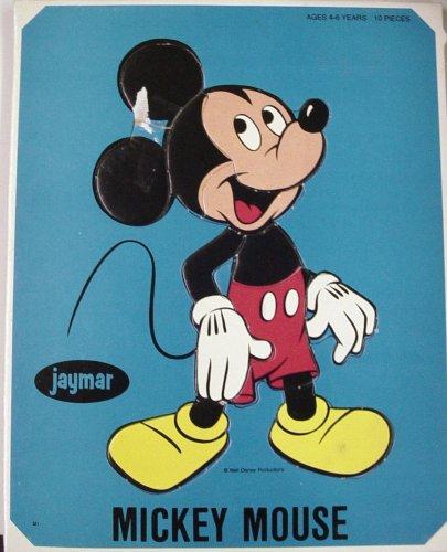 Jaymar Walt Disney Mickey Mouse Puzzle