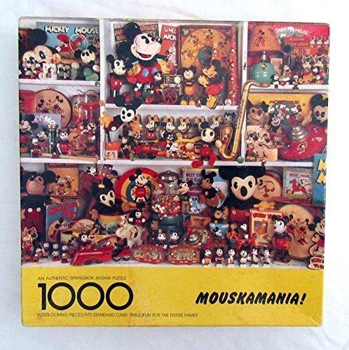 MOUSKAMANIA Springbok Mickey Mouse Puzzle PZL6125