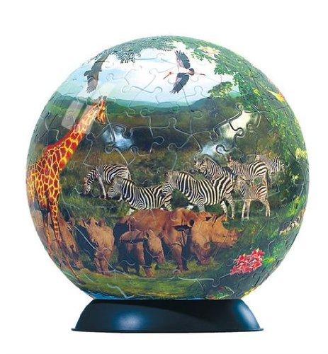 Ravensburger 240 Piece Wildlife Puzzleball