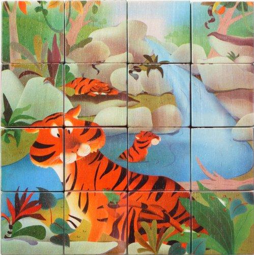 Voila Wildlife Puzzle Cubes