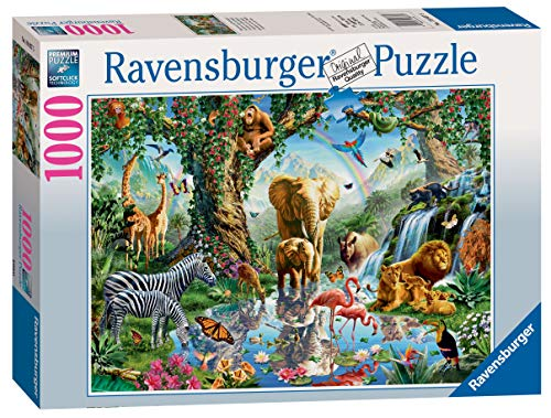 Ravensburger Adventures in The Jungle-1000 Piece Jigsaw Puzzle