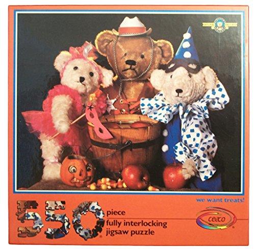 Bialosky and Friends Teddy Bear Halloween Jigsaw Puzzle 550 Pieces - We Want Treats