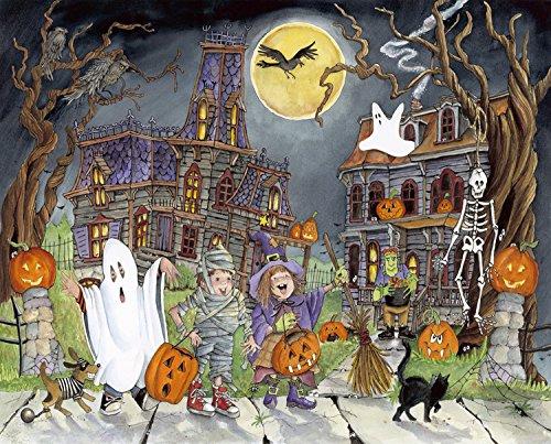 Little Goblins Halloween Jigsaw Puzzle 1000 Piece