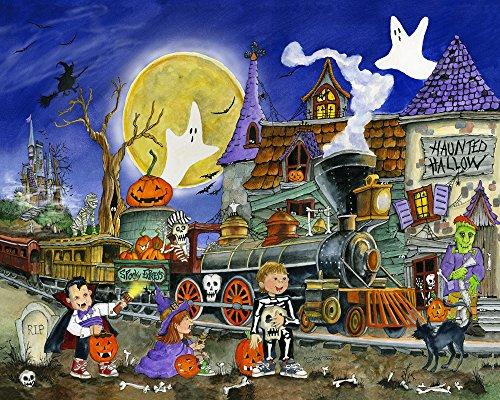 Spooky Express Halloween Jigsaw Puzzle 1000 Piece