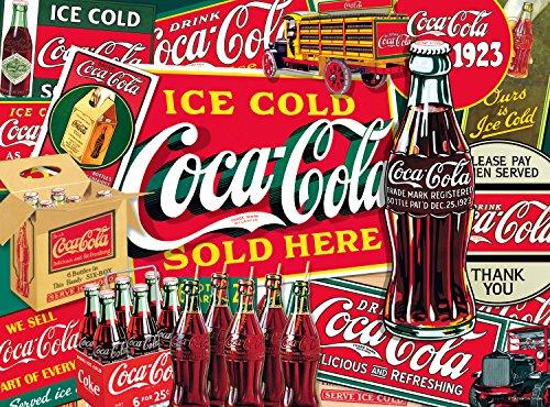 Buffalo Games Ice Cold Coca-Cola Jigsaw Puzzle 1000 Piece
