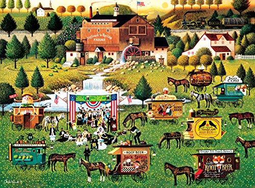 Buffalo Games Rally at Dandelion Mill by Charles Wysocki Jigsaw Puzzle 1000 Piece